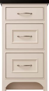 Flat and Amherst drawer fronts