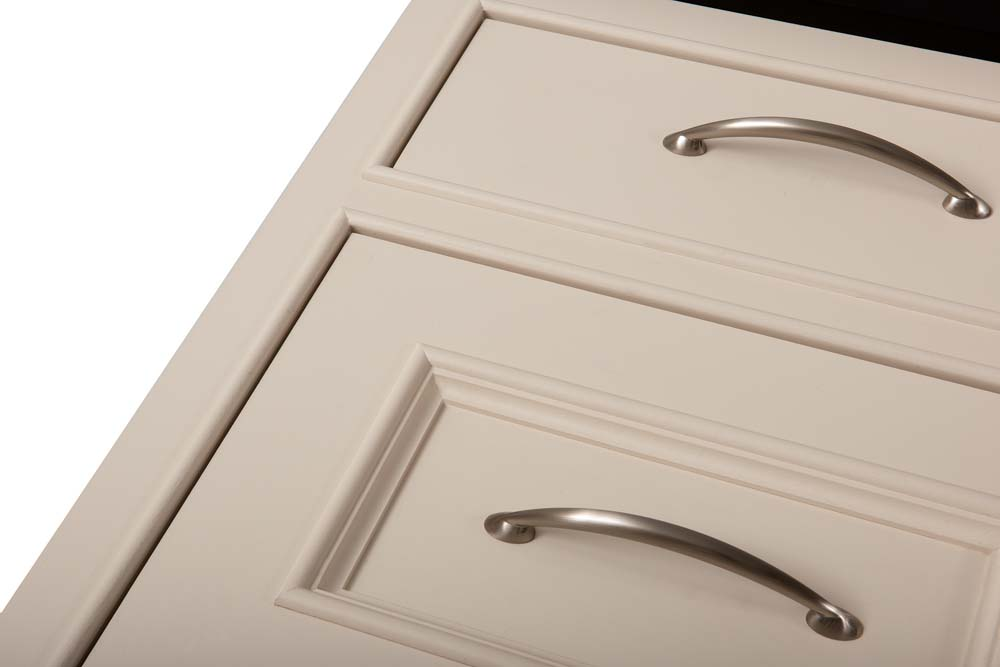 Flat and Amherst drawer front detail