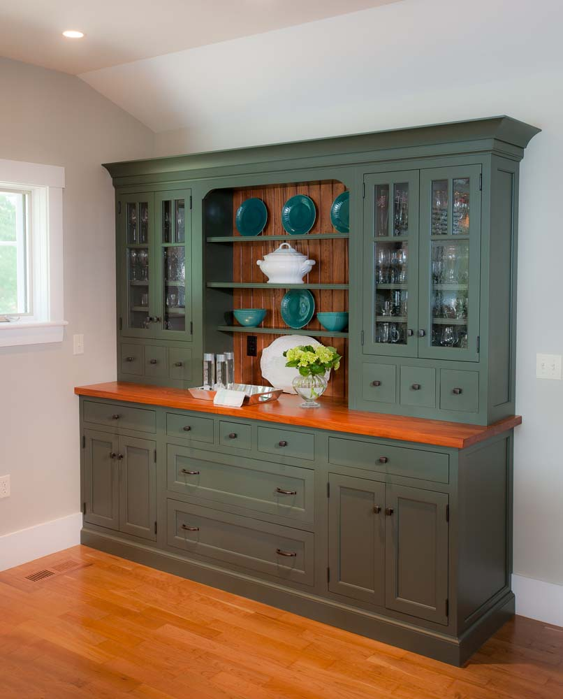 Custom pantry cabinet handcrafted by Crown Point Cabinetry