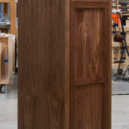 Tall Cabinet With No Mid Rail - Left Side