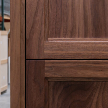 Tall Cabinet With No Mid Rail - Door Detail