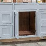 Vanity cabinet - Open Doors
