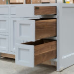 Vanity cabinet - Right Drawer Bank