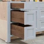 Vanity cabinet - Left Drawer Bank