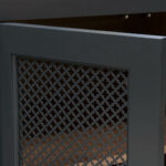 Theater cabinet - Mesh Detail