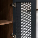 Theater cabinet - Back of Mesh Panel Door