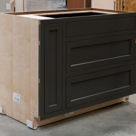 Two Drawer Base - Pan Storage and Pull Out - Left Side