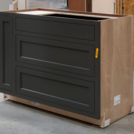 Two Drawer Base - Pan Storage and Pull Out - Right Side