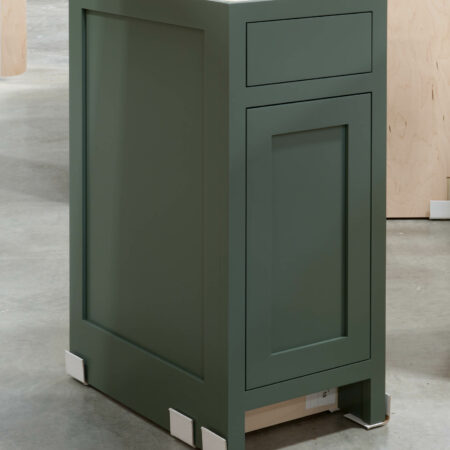 Base Cabinet with Tray Drawer - Left Side