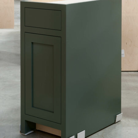 Base Cabinet with Tray Drawer - Right Side