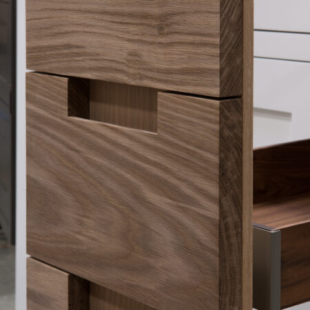 Base Cabinet With Drawer Fronts as Pullout Door - Pullout Door Detail