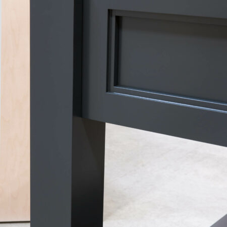 Four Post Base Cabinet - Detail View