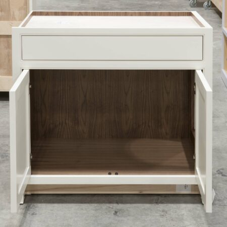 Base Cabinet with Pet Entrance - Doors Open