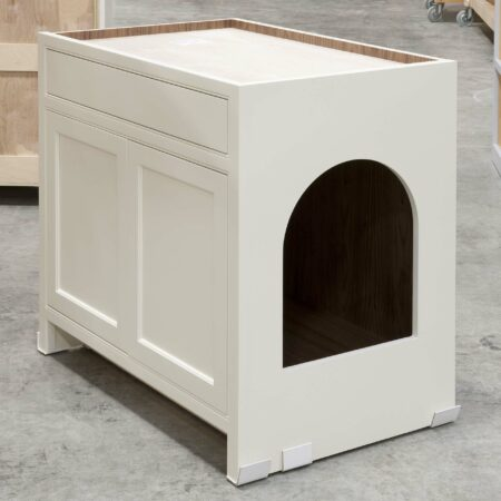 Base Cabinet with Pet Entrance - Right Side