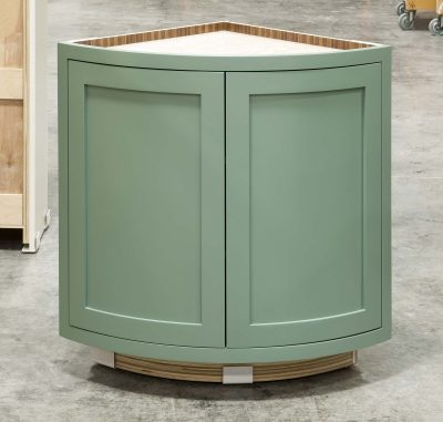 Curved Base Cabinet