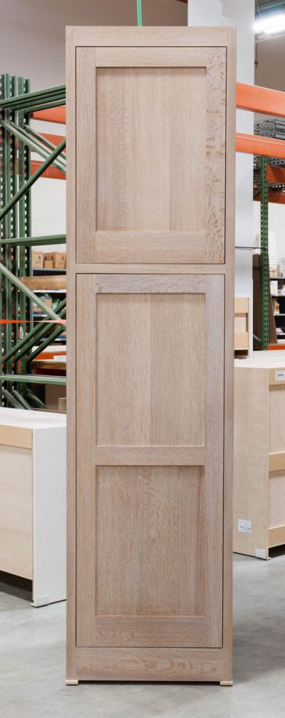 Tall Cabinet With Peg Rack
