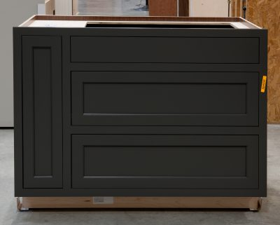 Two Drawer Base - Pan Storage and Pull Out