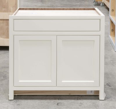 Base Cabinet with Pet Entrance