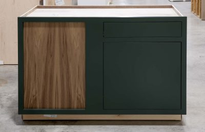 Blind Base Cabinet with Lemans Corner Pullout