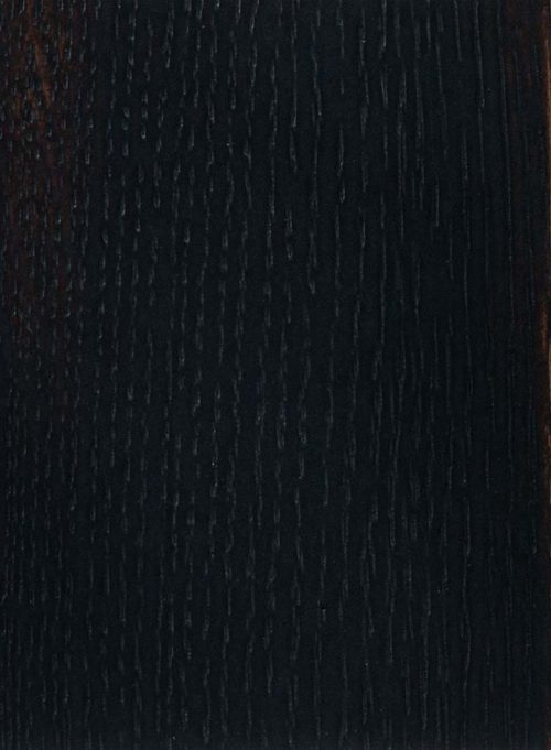 Quartersawn White Oak - Black of Night over Eco Brown - Texture Brushed