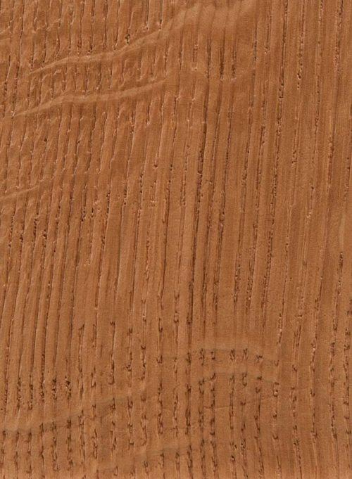 Quartersawn White Oak - Caramel - Heavy Texture Brushing
