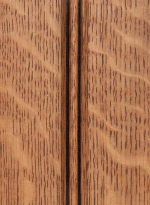 Quartersawn White Oak - Nutmeg with Van Dyke Glaze