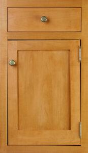 Door Tilts Left