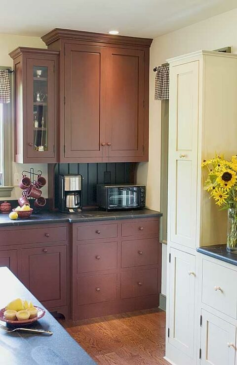 Milk Paint Cabinetry